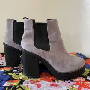 Divided H&M Platform Ankle Boots